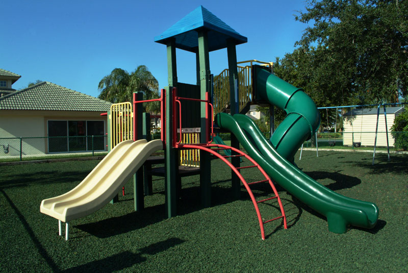 green rubber mulch for playground safety - Black Rubber Mulch