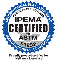 Rubber Mulch is IPEMA Certified